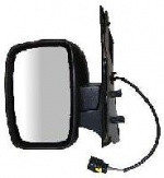 Citroen Dispatch Van [07-16] Complete Electric Wing Mirror Unit - Primed [single piece glass]